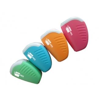 Liderpapel SA07 - Sacapuntas de plástico, con depósito, colores surtidos