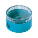 Sacapuntas Mor 333 plástico redondo 1 uso con deposito