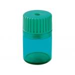 Sacapuntas Mor 914 plástico 1 uso con deposito cuchilla fijada por presion
