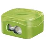 Mor 03560000 - Sacapuntas metálico con deposito, 2 usos