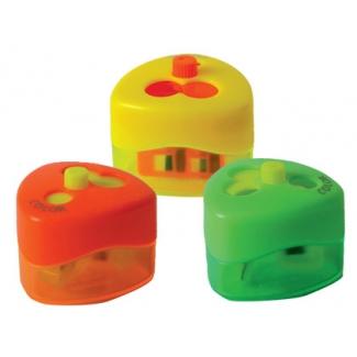 Sacapuntas Mor top swing 959 3 uso con deposito top colores neon surtidos