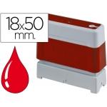 Sello automático Brother 18 mm x 50 mm color rojo