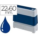Sello automático Brother 22 mm x 60 mm color azul