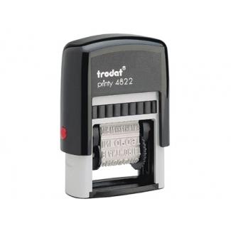 Sello multiformula Framun 12 textos entintaje automatico 4 mm printy