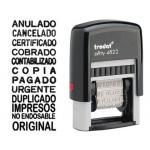 Sello multiformula Framun 12 textos entintaje automatico4 mm printy