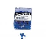 Señalizador de planos Presto color azul caja de 100 unidades