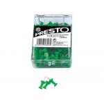 Señalizador de planos Presto color verde caja de 100 unidades