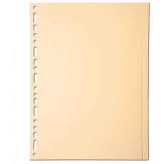 Exacompta 1010S - Separador de cartulina, A4, 10 pestañas, color crema