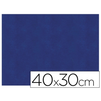 Servilleta de papel airlaid 40x30 cm color azul paquete de 40 unidades