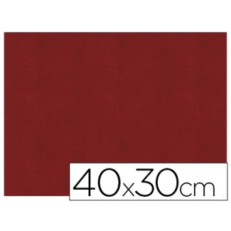Servilleta de papel airlaid 40x30 cm color burdeos paquete de 40 unidades