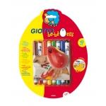 Set Giotto be-be egg contiene 8 rotuladores con base de ruedas