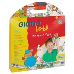 Set Giotto be-be my be-be farm rotuladores+ cuaderno+ tijera+ adhesivos