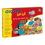 Set Giotto bebe maxi rotuladores+lapices+pasta modelar+cuaderno