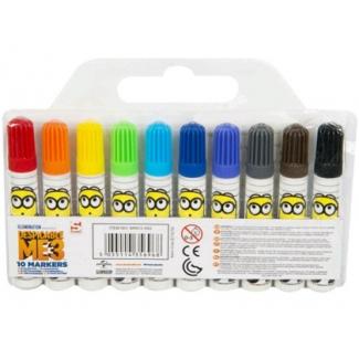 Set rotuladores Minions caja de 10 colores surtidos