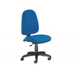 Silla Rocada sin brazos color azul diámetro de base 610 mm respaldo de 490 mm x 420 mm