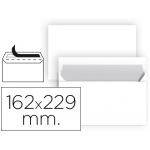 Sobre Liderpapel Nº 11 color blanco c5 162x229 mm tira de silicona paquete de 25 unidades