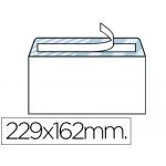 Sobre Liderpapel Nº 11 color blanco c5 162x229 tira de silicona caja de 500 unidades