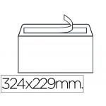 Sobre Liderpapel Nº 14 color blanco c4 229x324 mm tira de silicona caja de 250 unidades