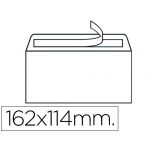 Sobre Liderpapel Nº 19 color blanco c6 114x162 mm tira de siliconacaja de 500 unidades