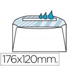 Sobre Liderpapel Nº 7 color blanco comercial normalizado 120x176 mm engomado caja de 500 unidades