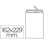 Sobre Liderpapel bolsa Nº 16 blanco c5 162x229 mm tira de silicona caja de 500 unidades