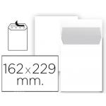 Sobre Liderpapel bolsa Nº 16 blanco c5 162x229 mm tira de silicona paquete de 25 unidades