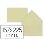 Sobre Liderpapel c5-etamano A5 color crema 157x225 mm 80 gr pack de 9 unidades