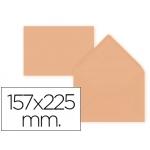 Sobre Liderpapel c5-etamano A5 color naranja 157x225 mm 80 gr pack 9 unidades