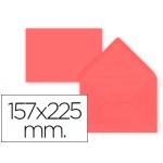 Sobre Liderpapel c5-etamano A5 color rojo 157x225 mm 80 gr pack de 9 unidades