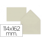 Liderpapel SB27 - Sobre C6, tamaño 114 x 162 mm, solapa pico engomada, color blanco, paquete de 15 unidades