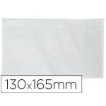 Sobre autoadhesivo Q-connect portadocumentos 165x122 mm ventana transparente paquete de 100 unidades