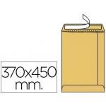 Sobre bolsa kraft 370 x 450 mm caja de 100