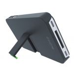 Soporte Leitz sobremesa para iphone 4/4s color negro 201x81x271 mm