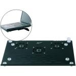 Soporte Ngs para portátil 3 ventiladores base metálica ultra fino boton conexión on/off