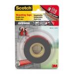 Soporte adhesivo cintas Scotch doble cara superresistente rollo 19 mm x 1.5 mt