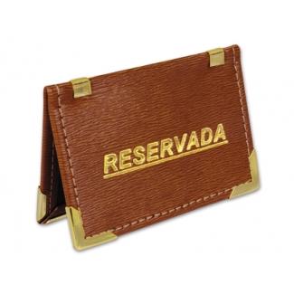 Soporte mesa reservada bolsa de 2 unidades