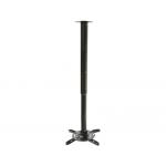 Soporte para video proyector rotación 360º inclinación 30º extencion 50-100 cm 15kg max estructura de aluminio