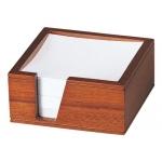 Soporte de madera para taco de papel
