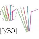 Sorbete flexible fluorescente paquete 50 unidades
