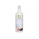 Spray Q-connect limpiador de pizarras blancas bote de 250 ml
