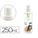 Spray Q-connect para limpiar teléfonos y superficies contenido 250 ml
