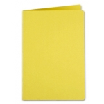 Liderpapel SC12 - Subcarpeta de cartulina, A4, 185 gr /m2, color amarillo intenso