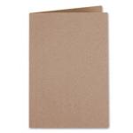 Liderpapel SC21 - Subcarpeta de cartulina, A4, 170 gr /m2, color kraft