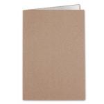 Liderpapel SC22 - Subcarpeta de cartulina, A4, 240 gr /m2, color kraft interior blanco