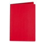 Liderpapel SC18 - Subcarpeta de cartulina, A4, 185 gr /m2, color rojo intenso