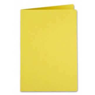 Liderpapel SC02 - Subcarpeta de cartulina, folio, 185 gr /m2, color amarillo intenso
