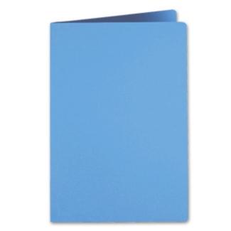 Liderpapel SC04 - Subcarpeta de cartulina, folio, 185 gr /m2, color celeste intenso