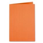Liderpapel SC06 - Subcarpeta de cartulina, folio, 185 gr /m2, color naranja intenso