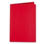 Subcarpeta Liderpapel tamaño folio color rojo intenso 185g/m2