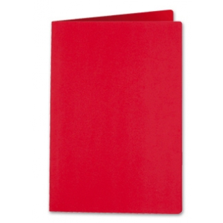 Liderpapel SC08 - Subcarpeta de cartulina, folio, 185 gr /m2, color rojo intenso